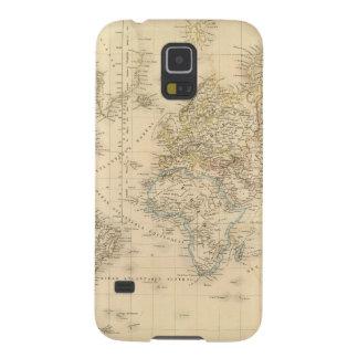 Earth Mercator proj Galaxy S5 Cover