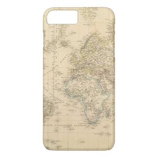 Earth Mercator proj iPhone 8 Plus/7 Plus Case