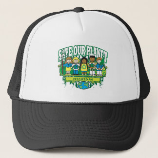 Earth Michigan Trucker Hat