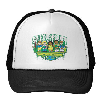 Earth Michigan Trucker Hat