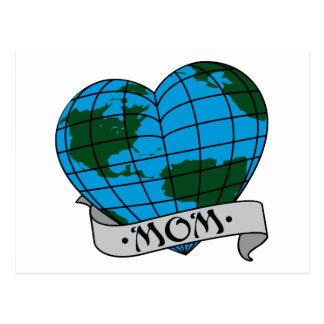 Earth Mom Postcard