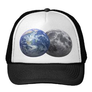 Earth & Moon - 3D Effect Trucker Hat