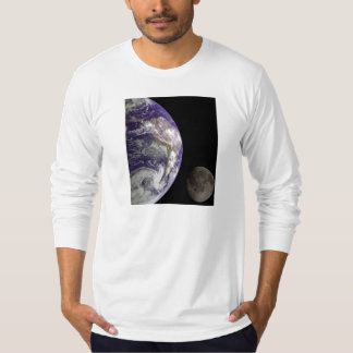 Earth & Moon from Galileo Space Mission T-Shirt