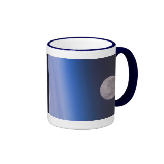 Earth & Moon From The International Space Station Mug