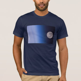 Earth & Moon From The International Space Station T-Shirt