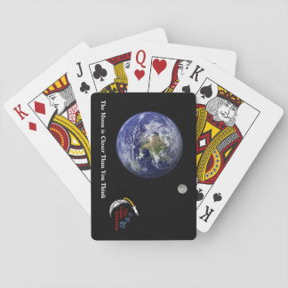 Earth Moon Playing Cards