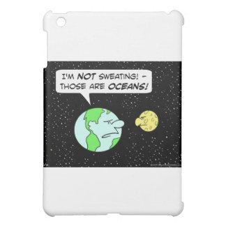earth moon sweating oceans iPad mini cases