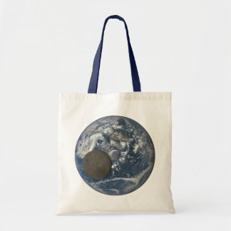 Earth & Moon's Far Side From Space Tote Bag