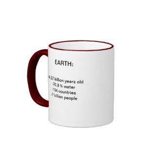 Earth mosquito ringer coffee mug