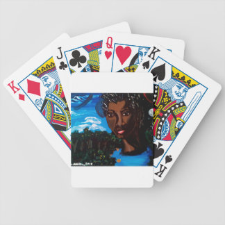Earth Mother and Goddess of the Planet Bicycle Playing Cards