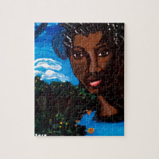 Earth Mother and Goddess of the Planet Jigsaw Puzzle