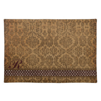 Earth Mother Damask Placemat Cloth Place Mat