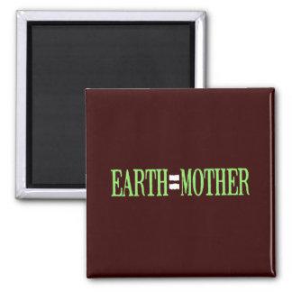 Earth=Mother Fridge Magnet