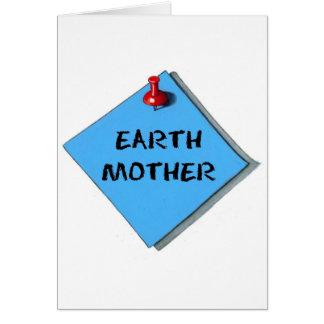 EARTH MOTHER MEMO CARD