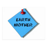 EARTH MOTHER MEMO POST CARDS