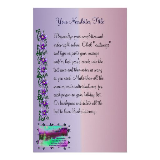 Earth Mother Stationery