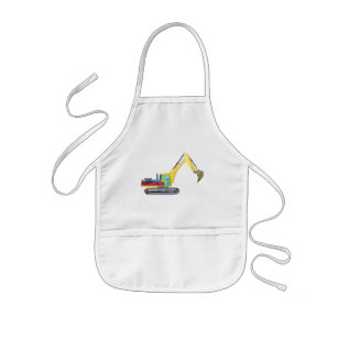 Earth Mover Kids' Apron