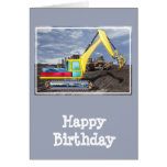 Earth Mover Moving Earth Card
