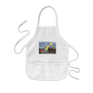 Earth Mover Moving Earth Kids' Apron