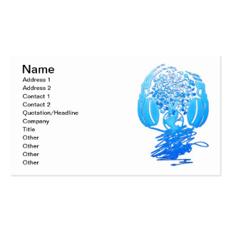 Earth_Music Business Card Templates