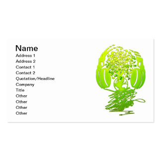 Earth_Music Business Card Template