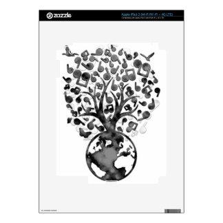 Earth_Music iPad 3 Decal