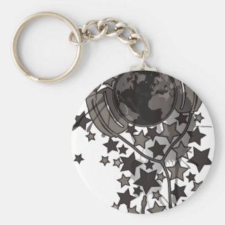 Earth_Music Keychain