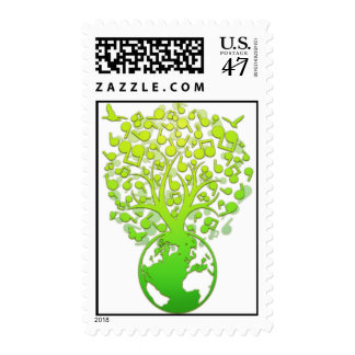 Earth_Music Postage