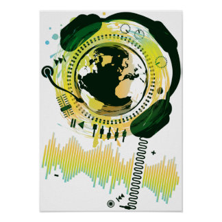 Earth_Music Print