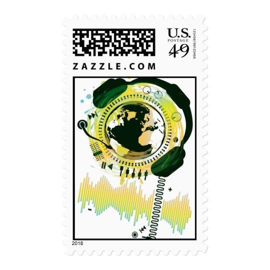 Earth_Music Sellos Postales