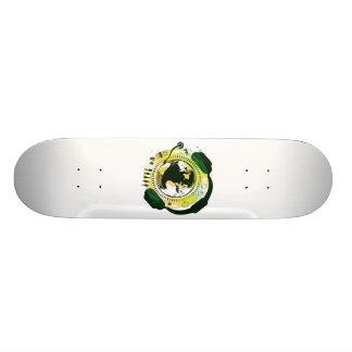 Earth_Music Skateboard Deck