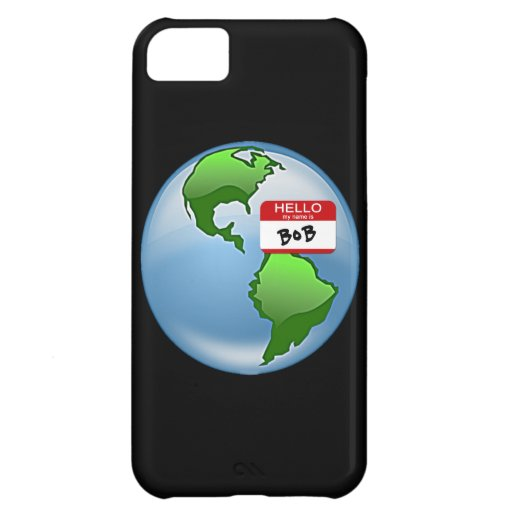 Earth Named Bob Case For iPhone 5C