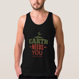 Earth Needs You Tank