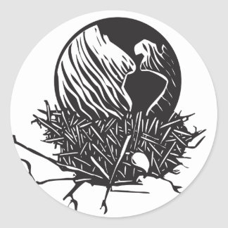 Earth Nest Classic Round Sticker