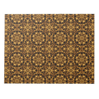 Earth Octagons Pattern Notepad