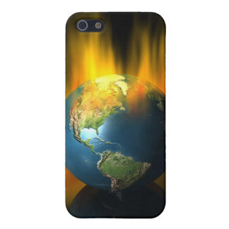 Earth on Fire iPhone 5 Case
