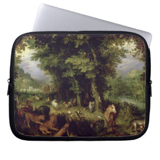 Earth or The Earthly Paradise, 1607-08 (oil on cop Computer Sleeve