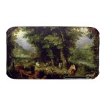 Earth or The Earthly Paradise, 1607-08 (oil on cop iPhone 3 Case