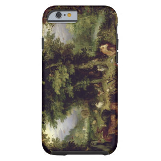 Earth or The Earthly Paradise, 1607-08 (oil on cop Tough iPhone 6 Case