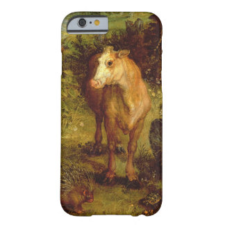 Earth or The Earthly Paradise, detail of a cow, po Barely There iPhone 6 Case