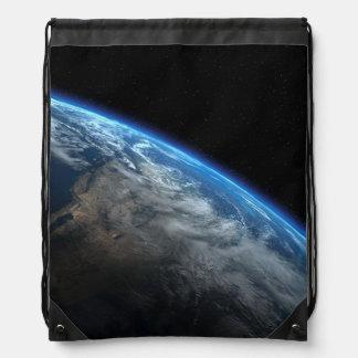 EARTH ORBIT DRAWSTRING BACKPACK