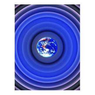 Earth Orbits Postcard
