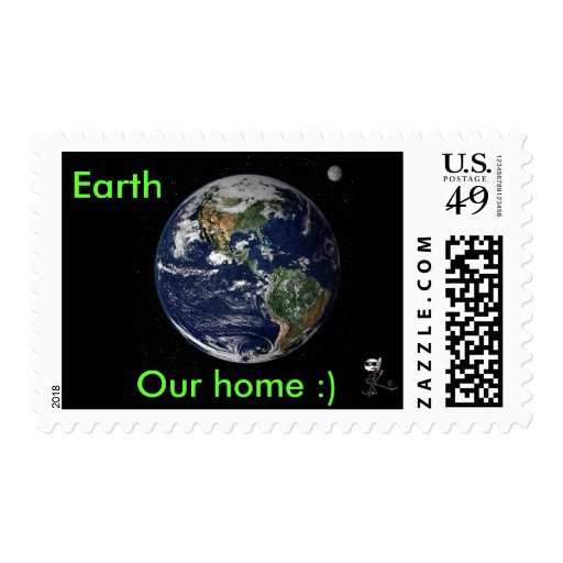 Earth, Our home :) Postage Stamps