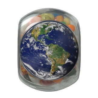 Earth Our World Jelly Belly Glass Jar