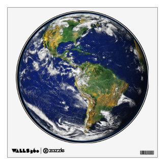 Earth Our World Round Wall Decal