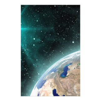 Earth Outer Space Stationery