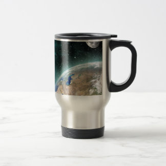 Earth Outer Space Travel Mug