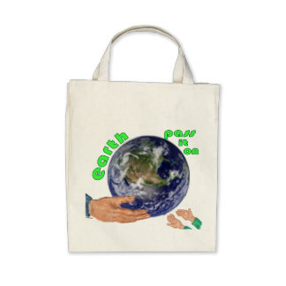 earth - pass it on bag