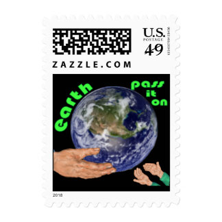 earth pass it on stamps