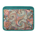 Earth Pastel Swirls Macbook Air Sleeve
